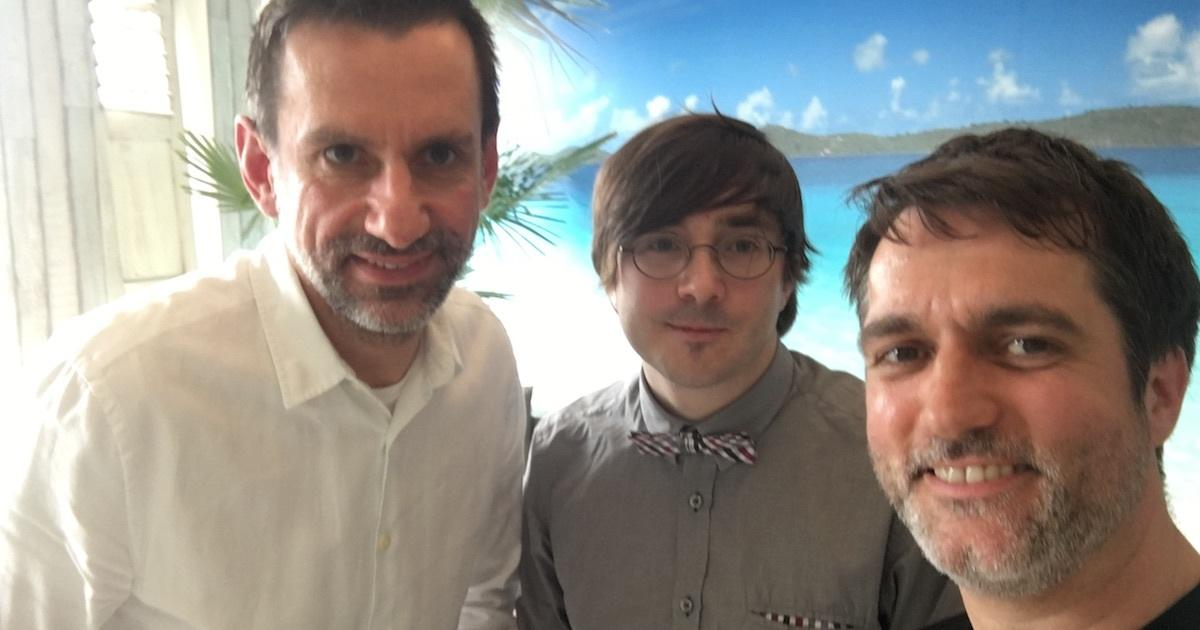 Foto: Sven Ditz, Christian Müller und Thomas Suppes