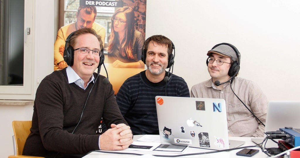 Foto: Gregory Keegan, Christian Müller und Thomas Suppes