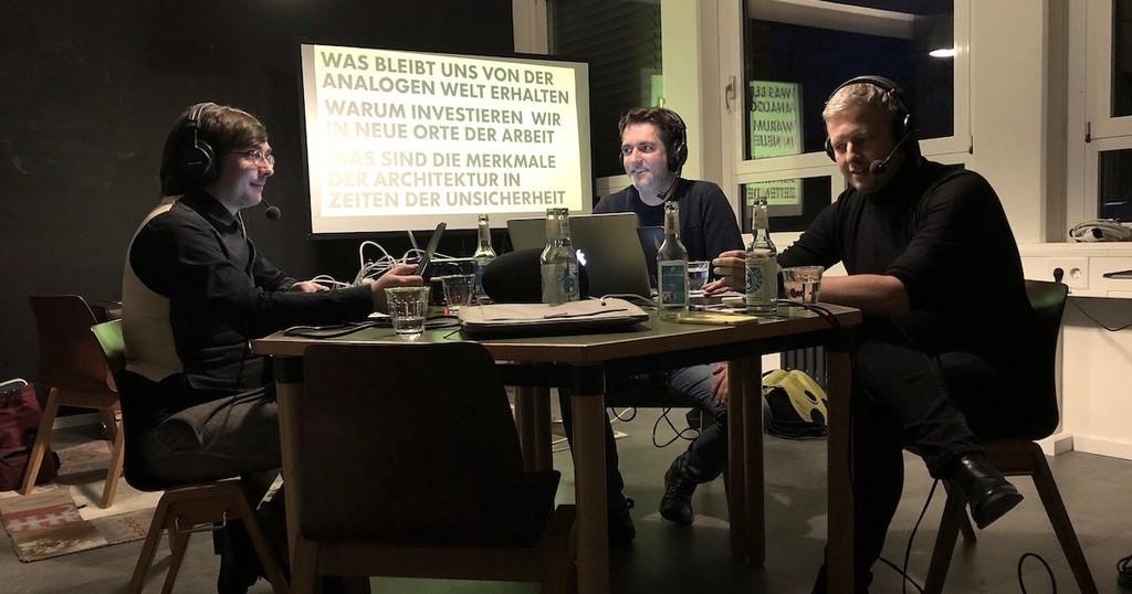 Foto: Sven Wehlmann, Christian Müller und Thomas Suppes