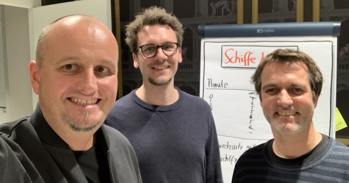 Bild: Klaus Leopold, Simon Wondracek und Thomas Suppes