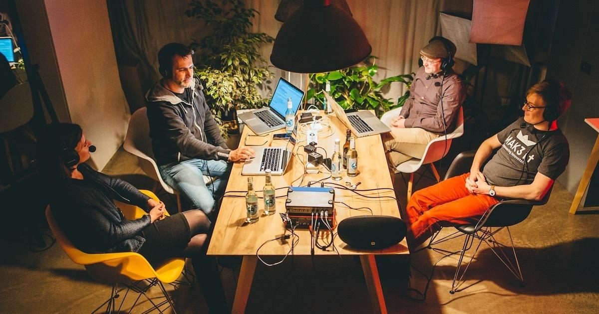 Foto: Anna Abelein, Daniel Bartel, Christian Müller und Thomas Suppes