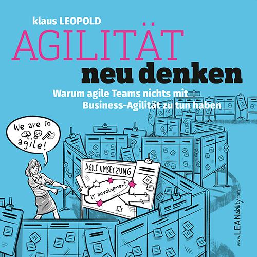 Buch-Cover: Agiltität neu denken